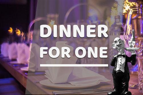 Dinner For One Banner