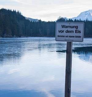 Eiswarnung