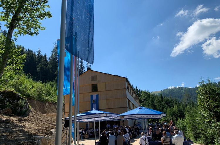 Eroeffnung Standort Berchtesgaden