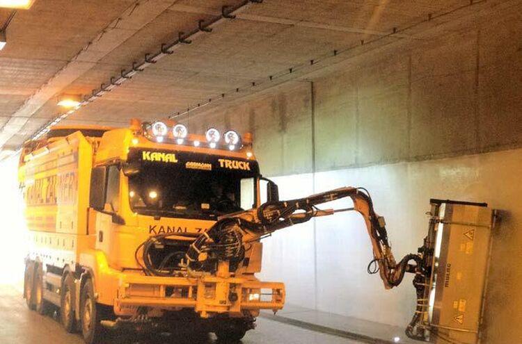 Ettendorfer Tunnel Reinigung Neu
