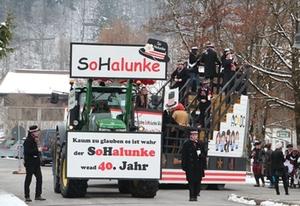 Faschingszug Traunstein