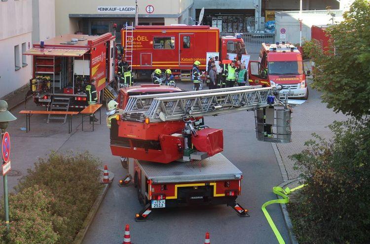 Feuerwehr Uebung 4