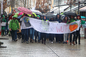 Fridays for Future Demo Reichenhall 2019