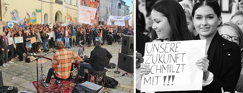 Fridays for Future Demo Traunstein 20 September 2019
