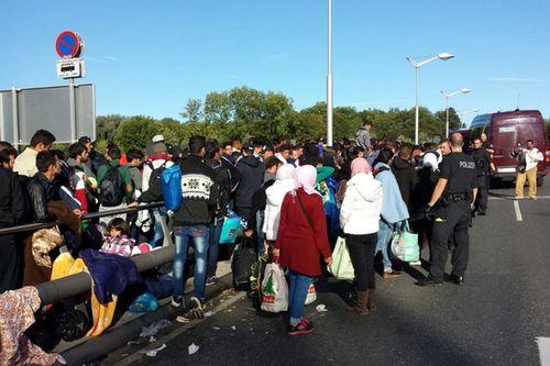 Fluechtlinge Freilassing 1709 1