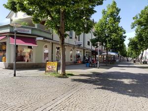 Freilassing Fußgängerzone 3