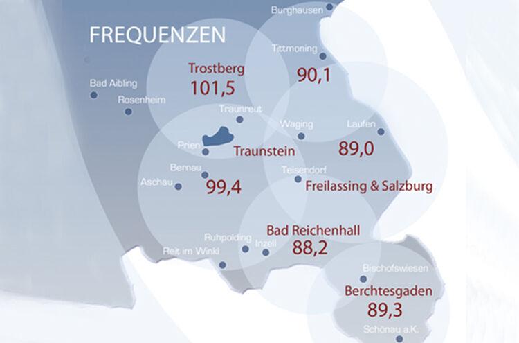 Frequenzen Bayernwelle