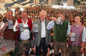 Frühlingsfest Traunstein 2018 Eröffnung