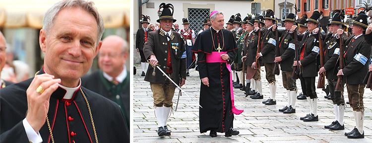Erzbischof Georg Gänswein wird Ehrenmitglied der Traunsteiner Gebirgsschützen