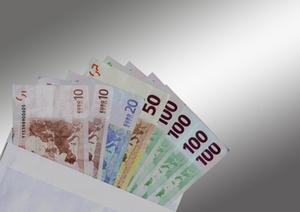 Geld Euro Kuvert