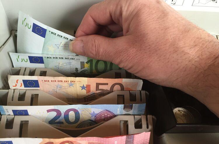Geld Kasse
