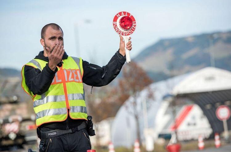 Grenzkontrolle Bundespolizei 1