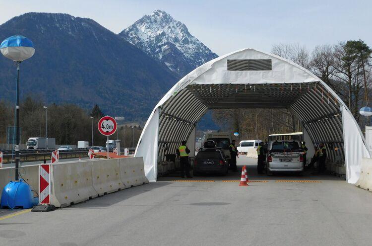 Grenzkontrollen Walserberg
