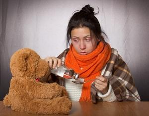 Grippe-Erkältung