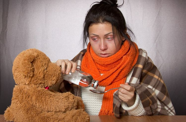 Grippe Erkaeltung