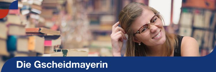 Homepage: Gscheidmayerin