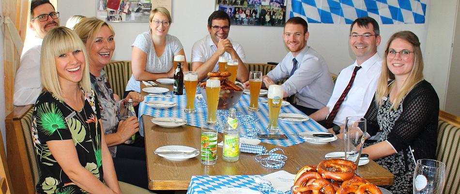 Bayernwelle Weißwurstfrühstück 07 Juni 2019 VR Bank Freilassing