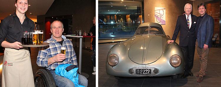 Der Berlin-Rom Porsche Typ64 im Hans-Peter Porsche TraumWerk Anger
