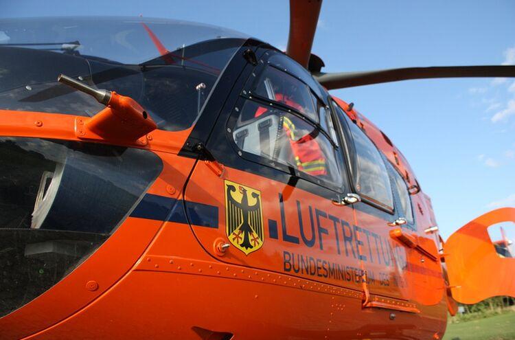 Hubschrauber Luftrettung