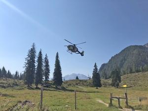 Hubschrauber Watzmann