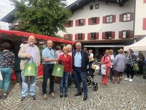 Wochenmarkt Siegsdorf Eröffnung