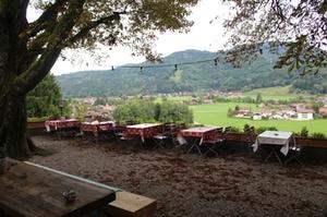 Veganer Biergarten am Schellenberg