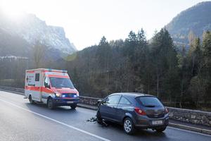 Unfall Saalach-Brück