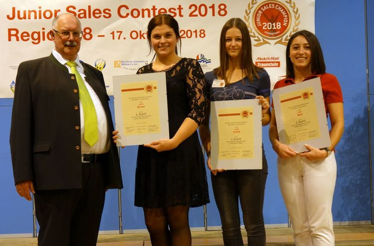 Juniorsalescontest Klein