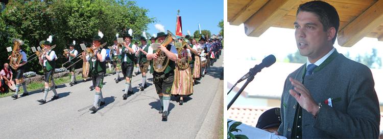 150 Jahre Feuerwehr Kammer Festzug