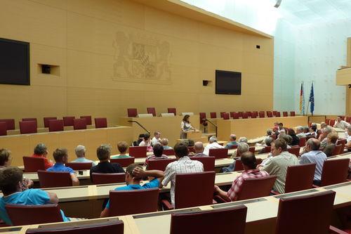 Kaniber Landtag Besuch 1