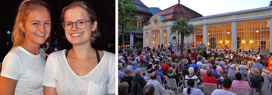 Kurgartenbeleuchtung Bad Reichenhall 23. Juli 2019