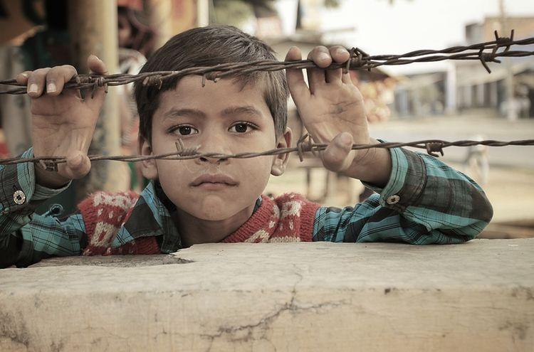 Kind Asien