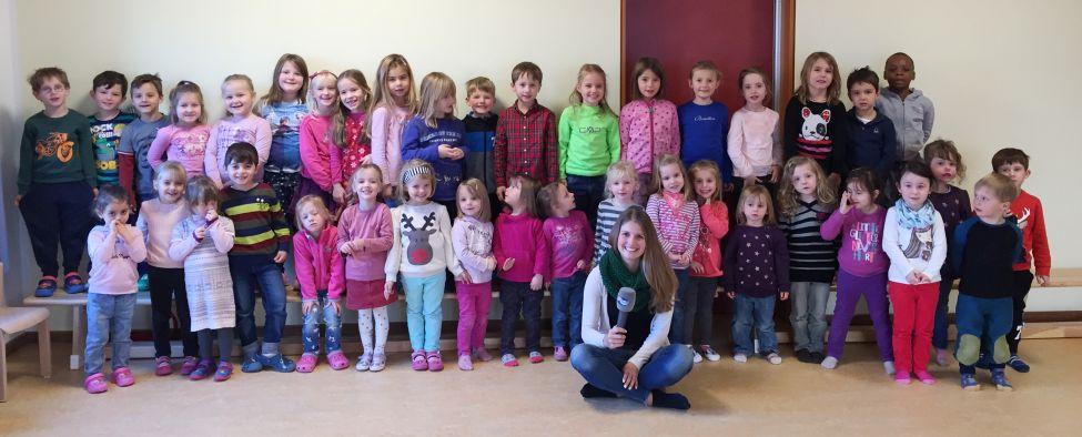 Weihnachtslied Kindergarten Berchtesgaden