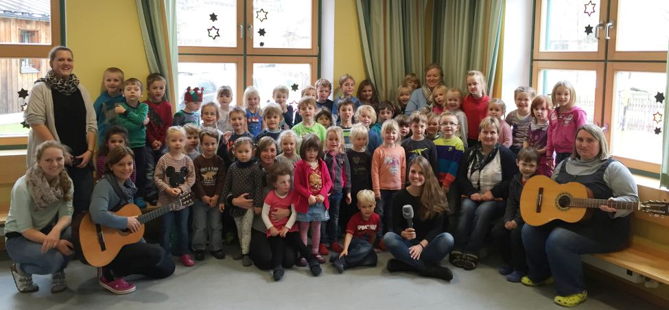 Weihnachtslied Kindergarten Ramsau
