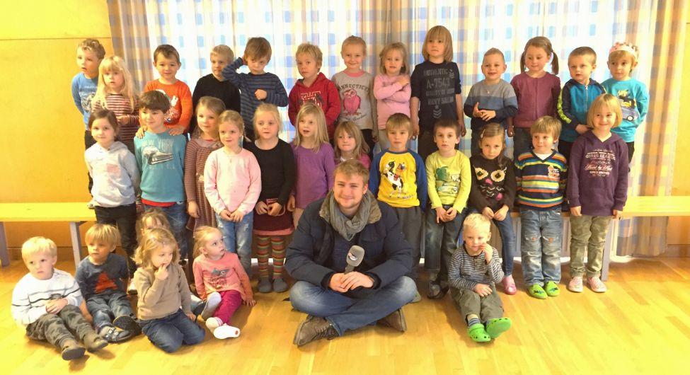 Kindergarten Übersee - Weihnachtslied