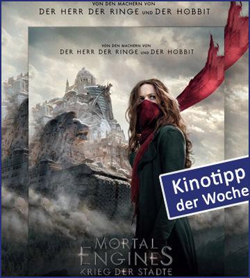 Kinotipp Der Woche Mortal Engines Krieg Der Staedte