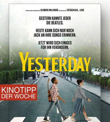 Kinotipp Der Woche Yesterday