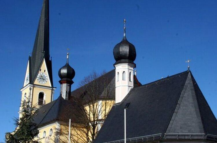 Kirche Prien Maria Himmelfahrt
