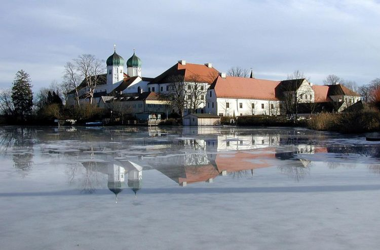 Kloster Seeon Winter