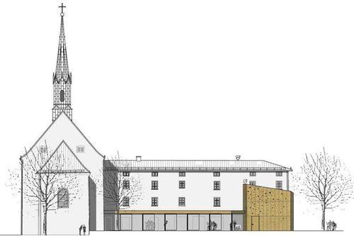Klosterkirche Ts Plan Farbinger Rossmy Architekten