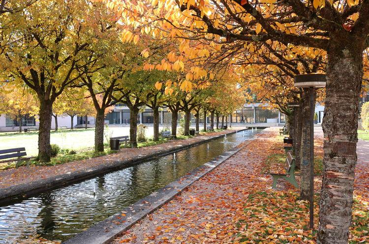 Kurgarten Berchtesgaden Herbst 2