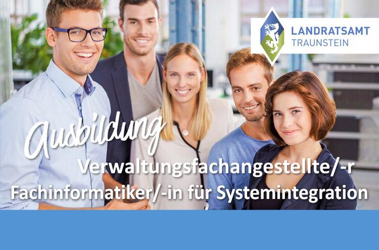 Landratsamt Traunstein Banner