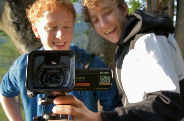 Mediencamp Filmkamera