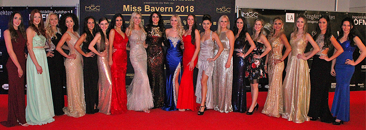 Miss Bayern Wahl 2018
