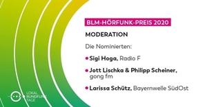 Moderation Larissa Schütz Hörfunk-Preis