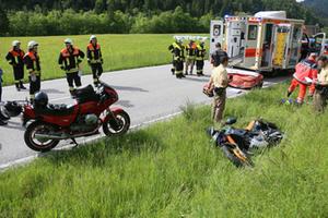 motorrad-unfall-schneizlreuth-brk-1