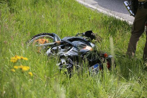 Motorrad Unfall Schneizlreuth Brk 5