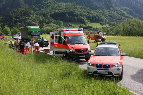 Motorrad Unfall Schneizlreuth Brk 8
