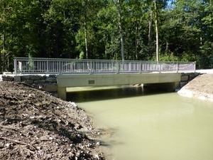 Mühlbachbrücke Freilassing