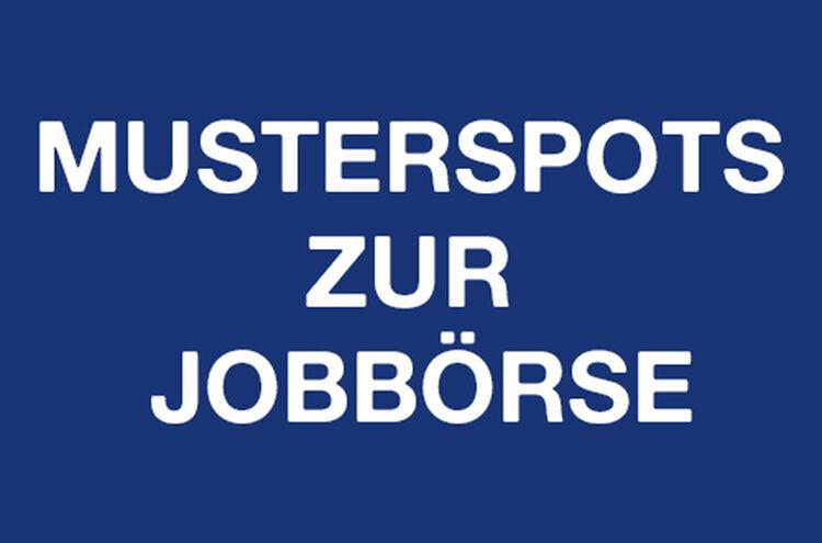 Musterspots Jobboerse